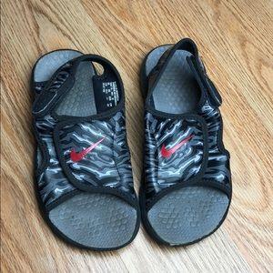 Nike Shoes | Boys Camo Sunray Sandals